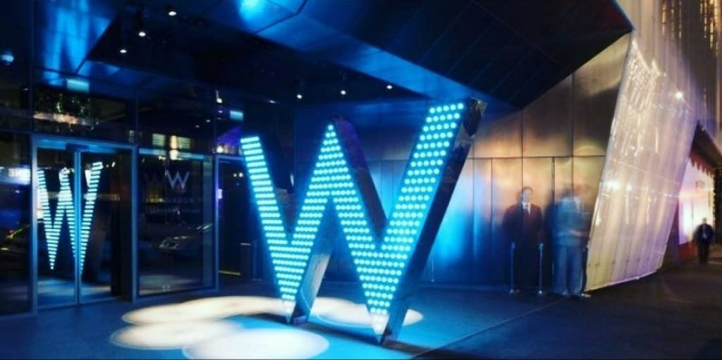 Brunch and Deep House at the W Hotel Leicester Square, Perception Bar!