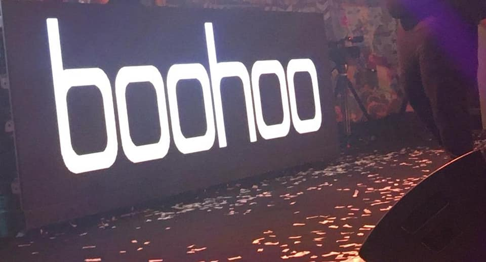 Boohoo – Christmas Party – MANCHESTER
