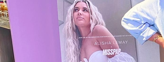 Misspap x Alisha Lemay – Misspap a Clothing Brand collaborate with Alisha Lemay a Fashion Influencer